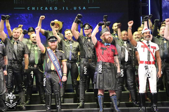 Mr. Leather brasileiro brilhou na final mundial do concurso. Veja imagens