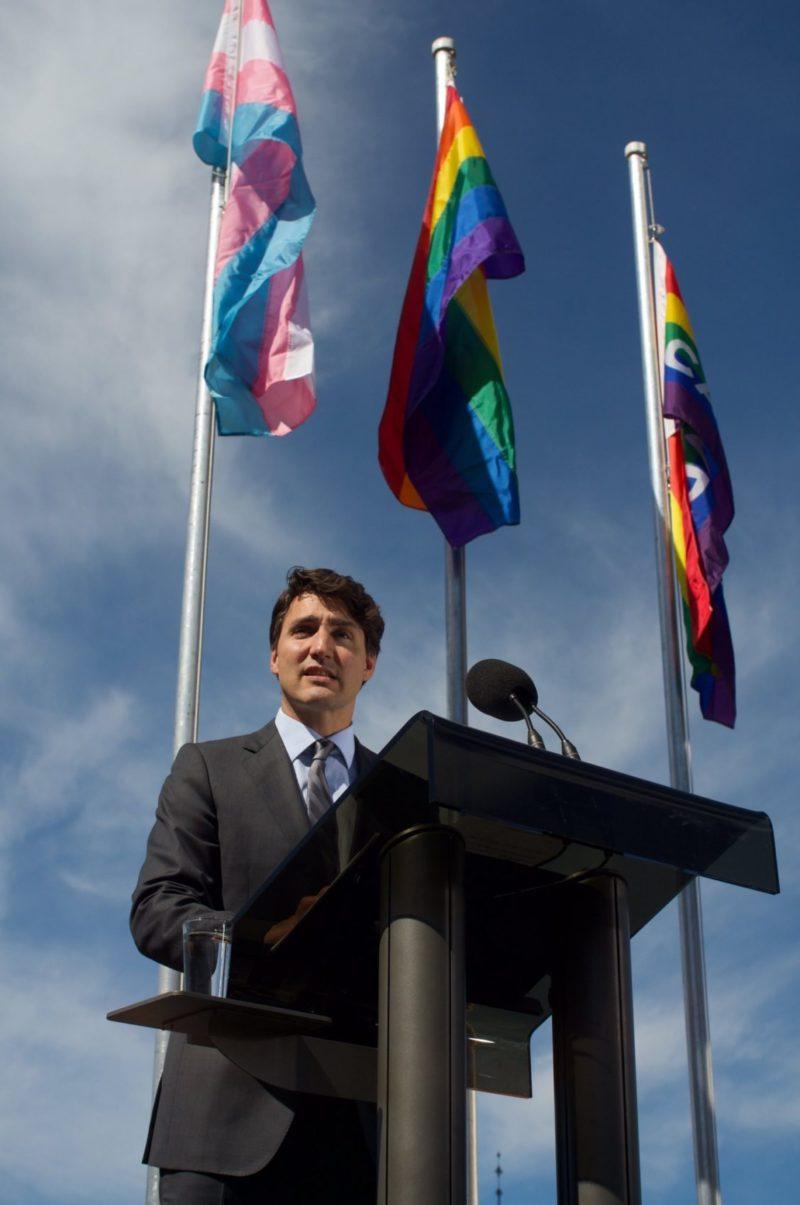 justin trudeau pride Justin Trudeau at Vancouver Pride