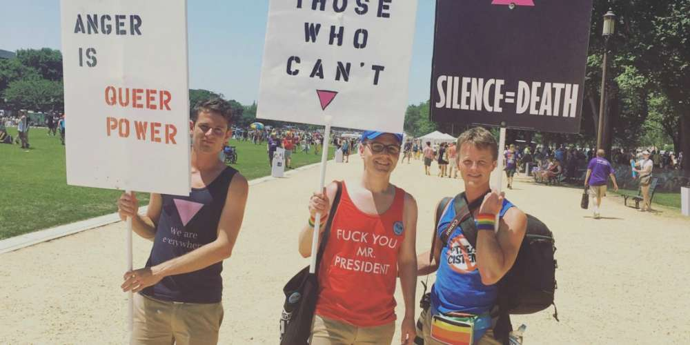 18 de nos slogans préférés de l'Equality March de Washington