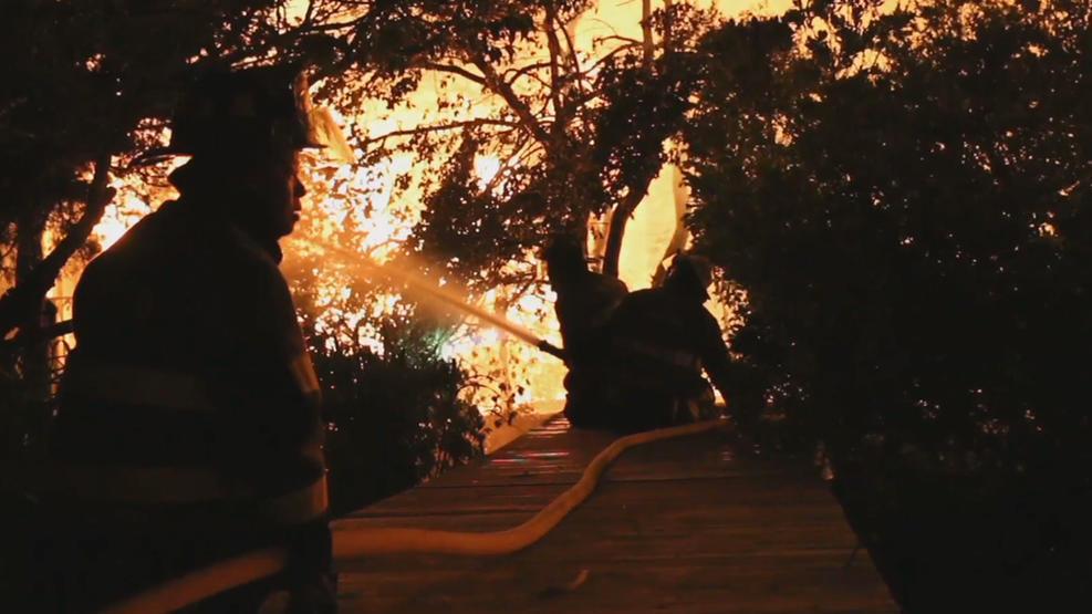 fire island fire