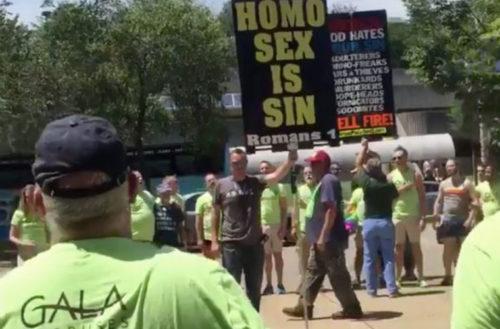 chorus Knoxville protestors