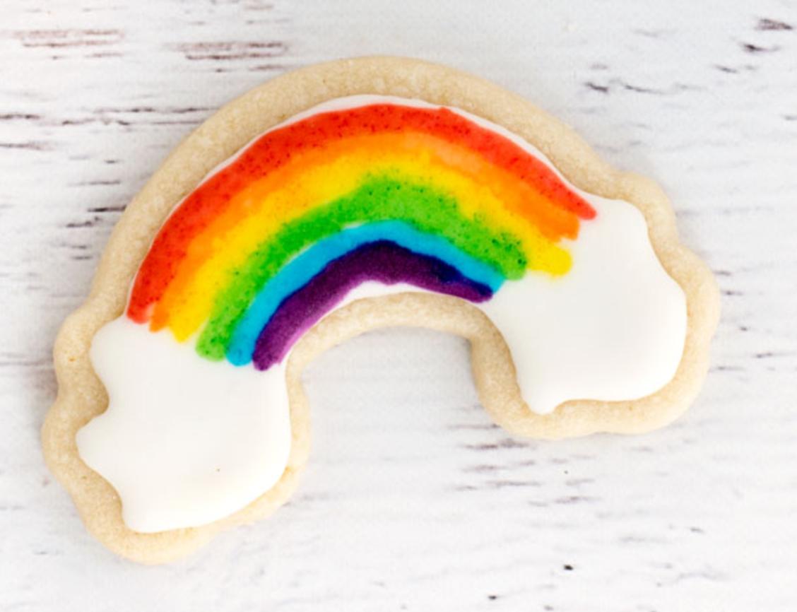 pride party cookies