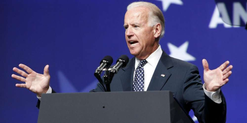 Joe Biden Urges LGBT Americans to 'Hold President Trump Accountable'
