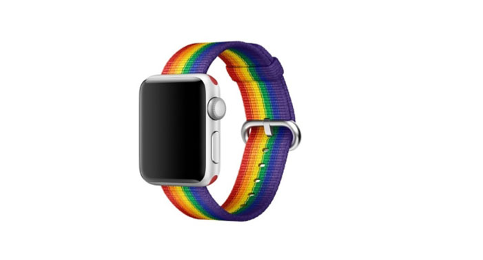 Apple rainbow wristband 02