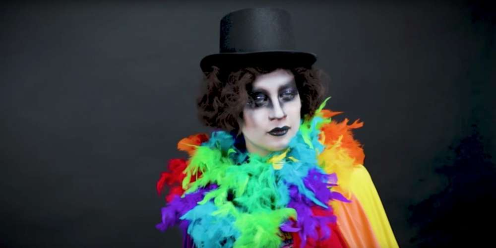 Slay at Pride With This Babadook Makeup Tutorial