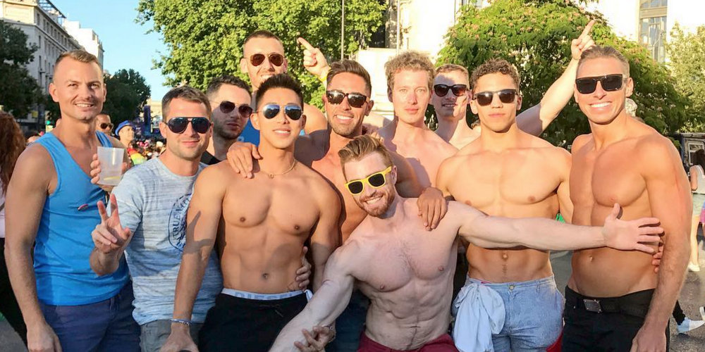 Bask in These Sexy, Sunny Photos From World Pride Madrid