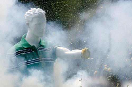 mannequins maimed fireworks