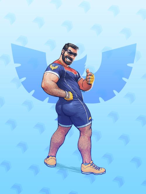 super smash bros. bears falcon
