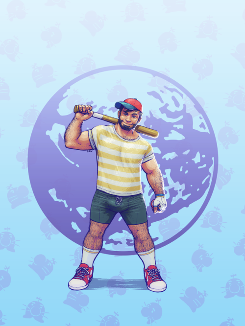 super smash bros. bears ness