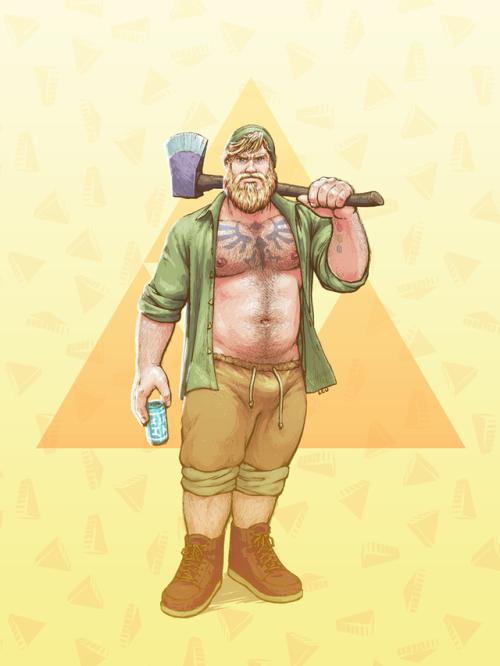 super smash bros. bears link
