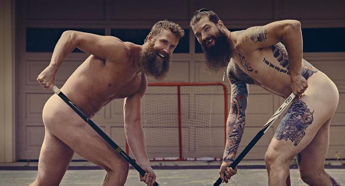ESPN body issue 2017 20 Joe Thornton and Brent Burns