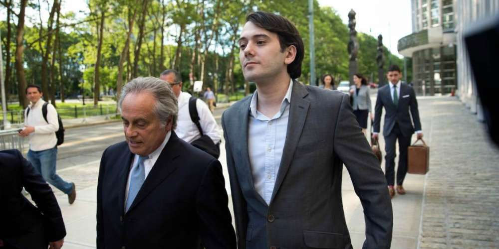 Pharma-Bro Martin Shkreli Allegedly Made a Gay Investor Uncomfortable with Sex Talk