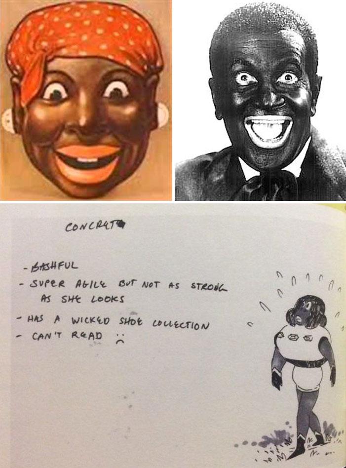 Steven Universe Concrete racist