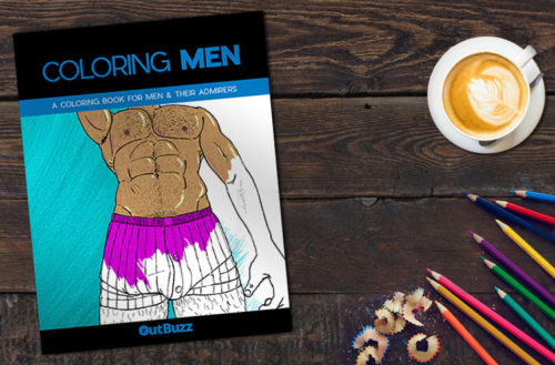 gay coloring book