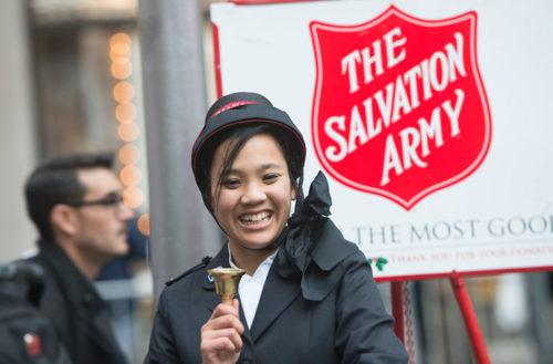 Salvation Army transgender