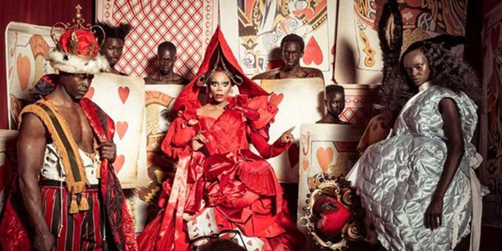 RuPaul Plays the Queen of Hearts in Pirelli's Eye-Popping 'Alice in Wonderland' Calendar (Photos)