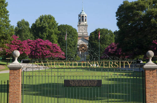 Samford University donation