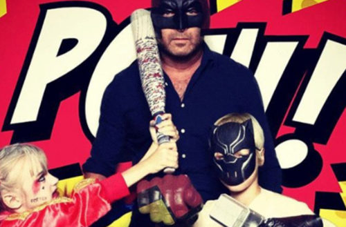 DILF-Liev-Schreiber-Attends-Comic-Con-With-Son-Harley-Quinn