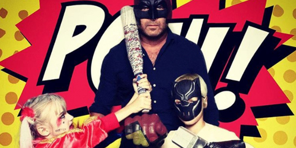 Dad of the Year: Liev Schreiber Attends Comic-Con with Son Dressed as Harley Quinn
