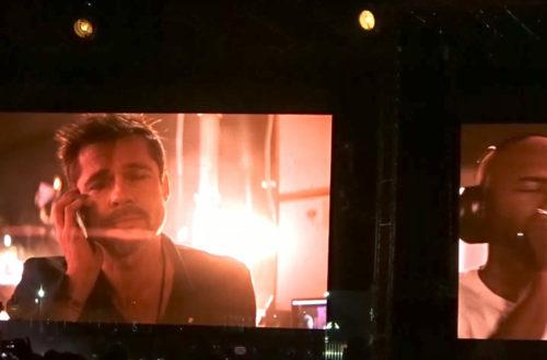 Frank Ocean serenades Brad Pitt FYF Festival