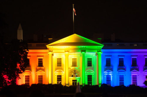 first queer president feat, trump marriage equality