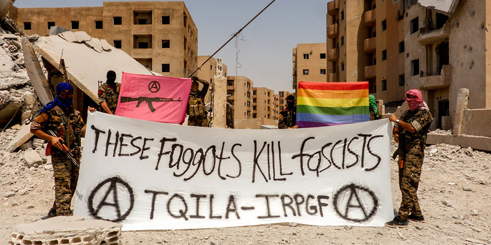 There Is Now an LGBTQ Militant Group Fighting Against the Deadly Homophobia of ISIS