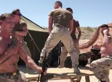 hot marines dance