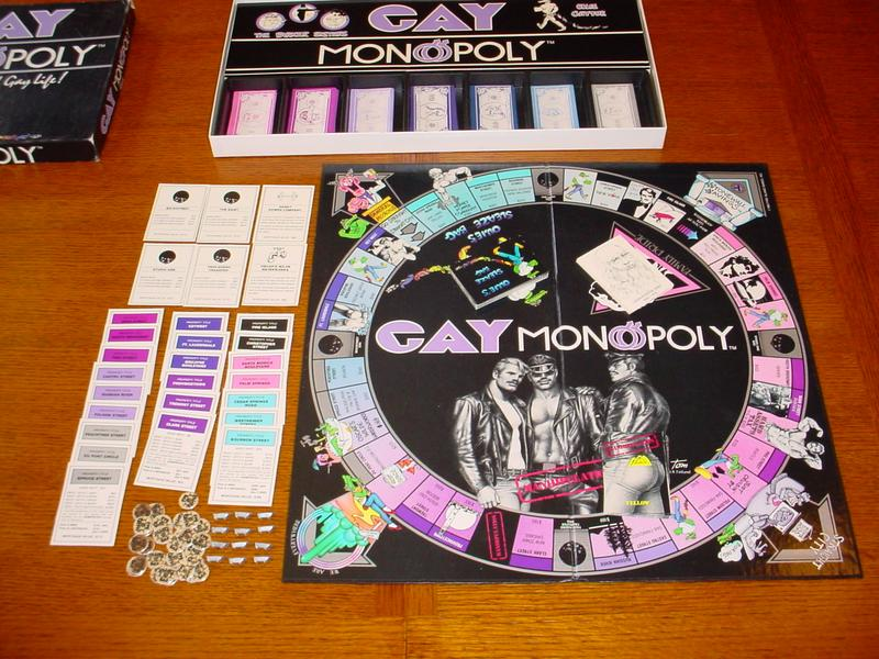 gay board games - gay monopoly
