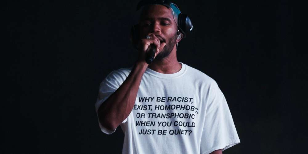 Here's Where You Can Buy Frank Ocean's Woke AF Shirt