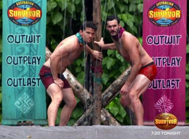Australia Survivor nude wrestling 01