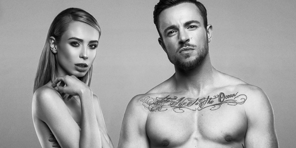 In Bold Campaign for PETA, Trans Models Benjamin Melzer and Loiza Lamers Get Naked