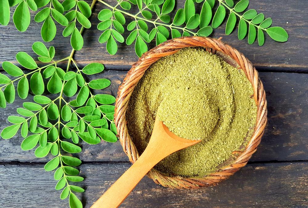 grooming product ingredients moringa