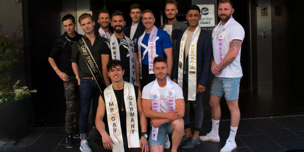 Check Out the 12 Very Sexy Men Vying for Mr. Gay Europe 2017