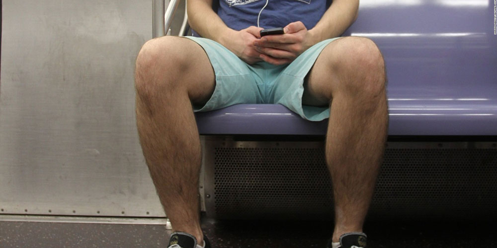 This Professor Has Used Centuries of Human Evolution to Justify 'Manspreading'