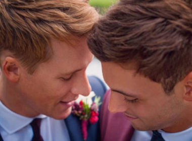Dustin Lance Black 06, Tom Daley wedding 06