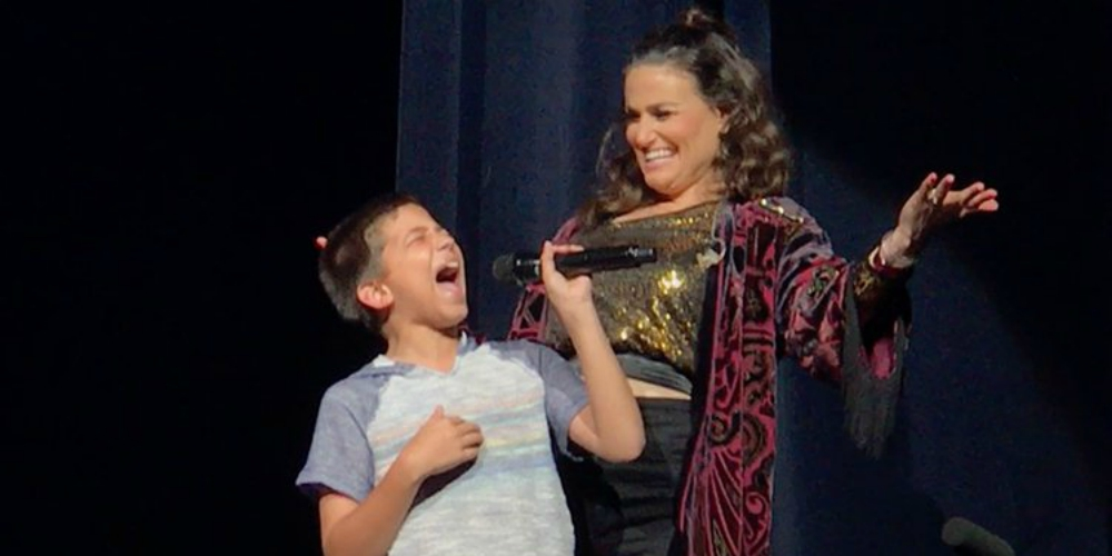 This Texas Boy's Rendition of 'Let It Go' Stole the Show and Left Idina Menzel Speechless