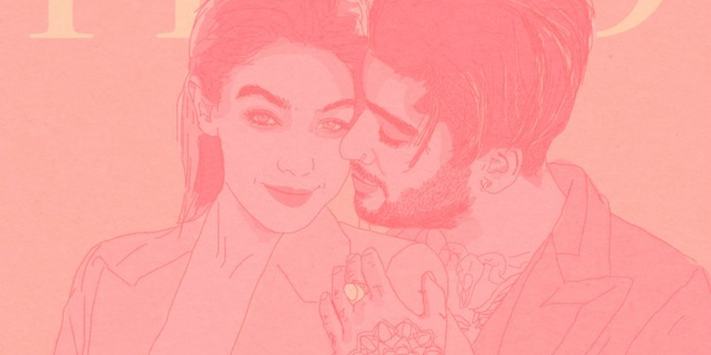 This Queer Artist Reimagines Gigi Hadid and Zayn Malik as the Gender Fluid Couple They Never Were