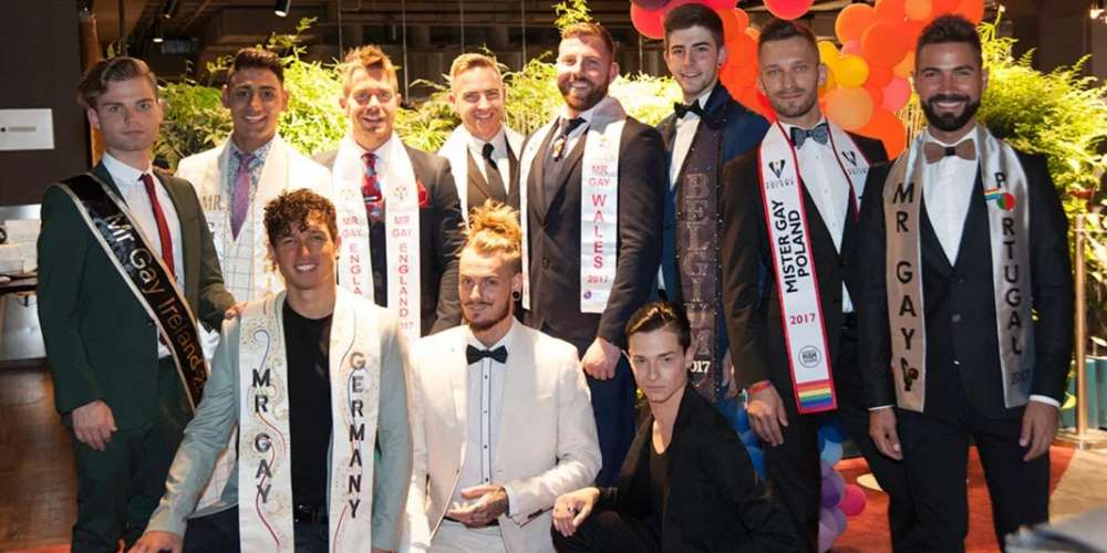 11 Hot Men Vied for Mr. Gay Europe 2017, and Here's Who Won