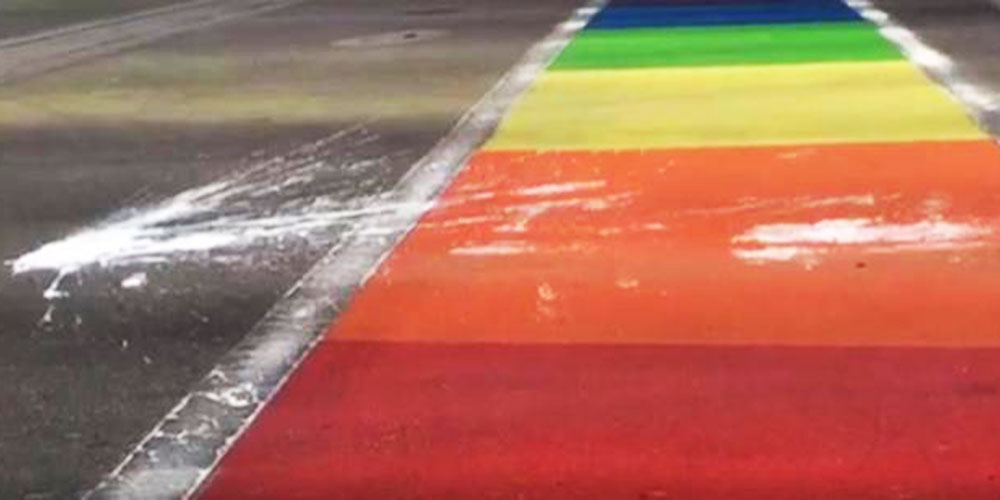 Vandals Have Defaced Rainbow Crosswalks 6 Times in the Last Year (Video)