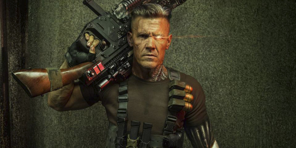 Josh Brolin Got Swole AF to Play Cable in the Upcoming 'Deadpool 2'