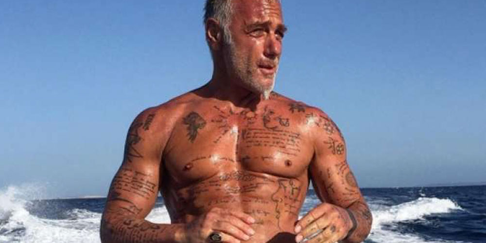 Le millionnaire italien Gianluca Vacchi aime beaucoup les maillots super suggestifs (photos)