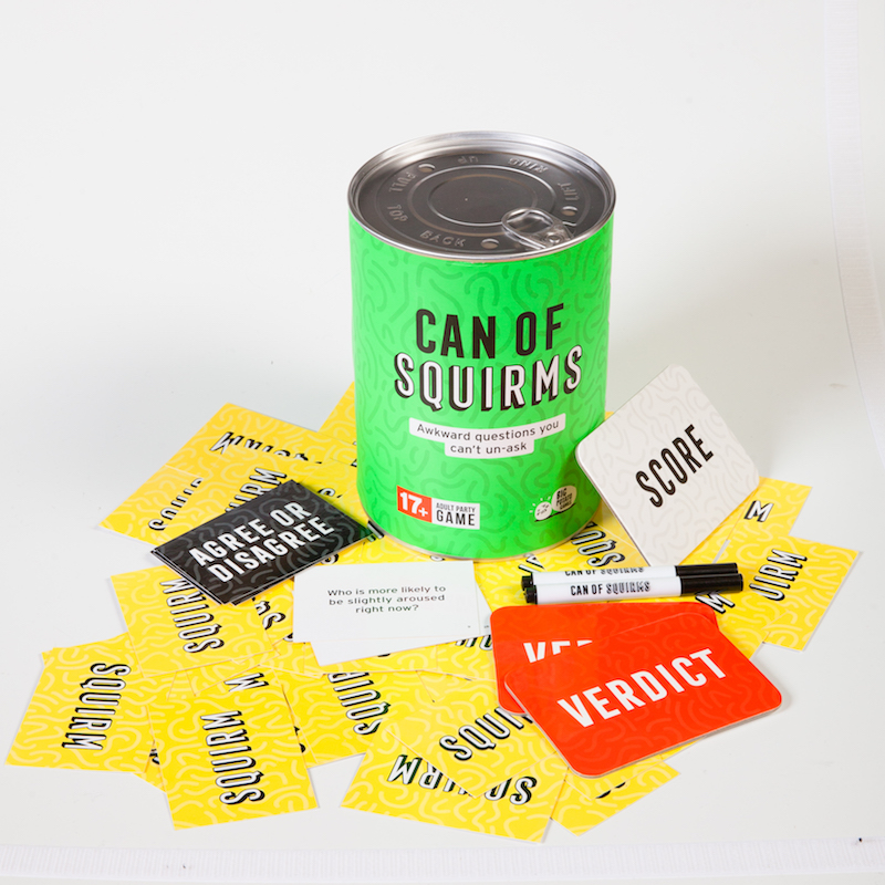 adult board games Can Of Squirms