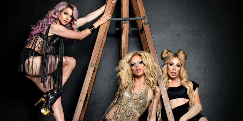 The AAA Girls (Alaska, Willam and Courtney Act) Are Going on Tour