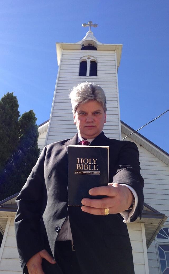 kicking zombie ass for jesus pastor