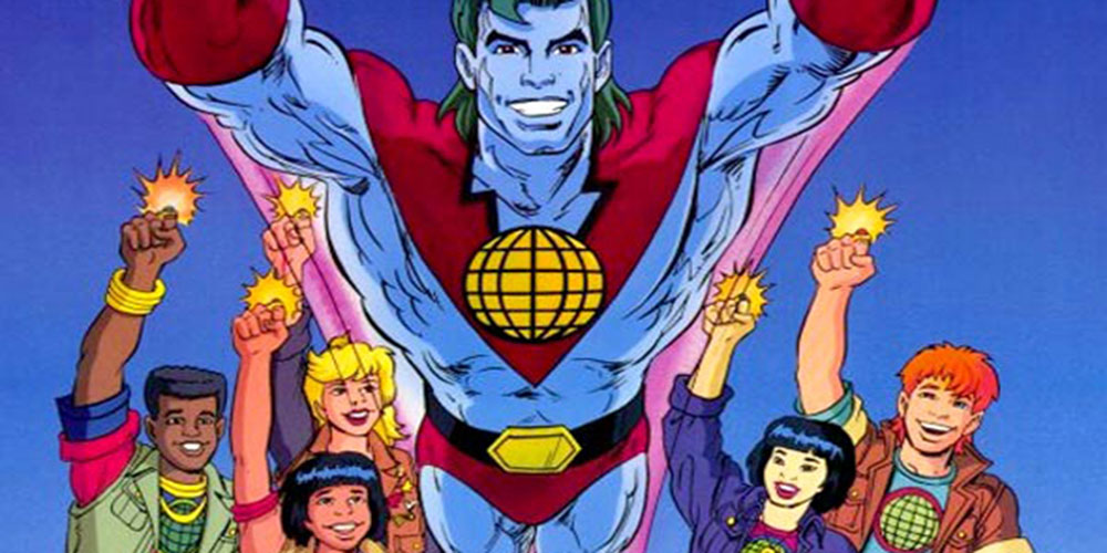 '90s Superhero Captain Planet Supports Same-Sex Marriage While Responding to Anti-Gay Critics