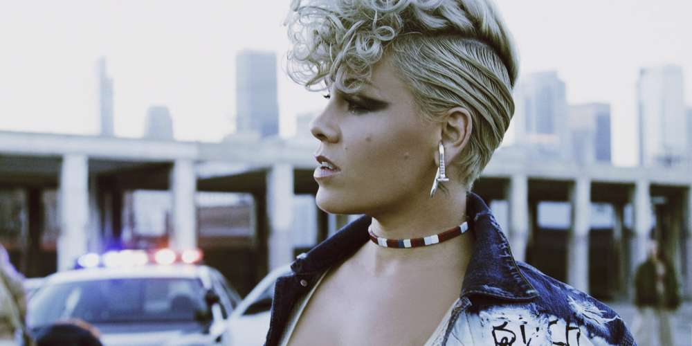 Pink Releases Politically Tinged Video for Bold New Single 'What About Us'