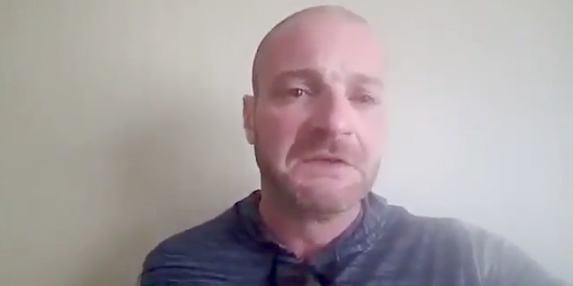 Crying US neo-Nazi found guilty of rape threat in far