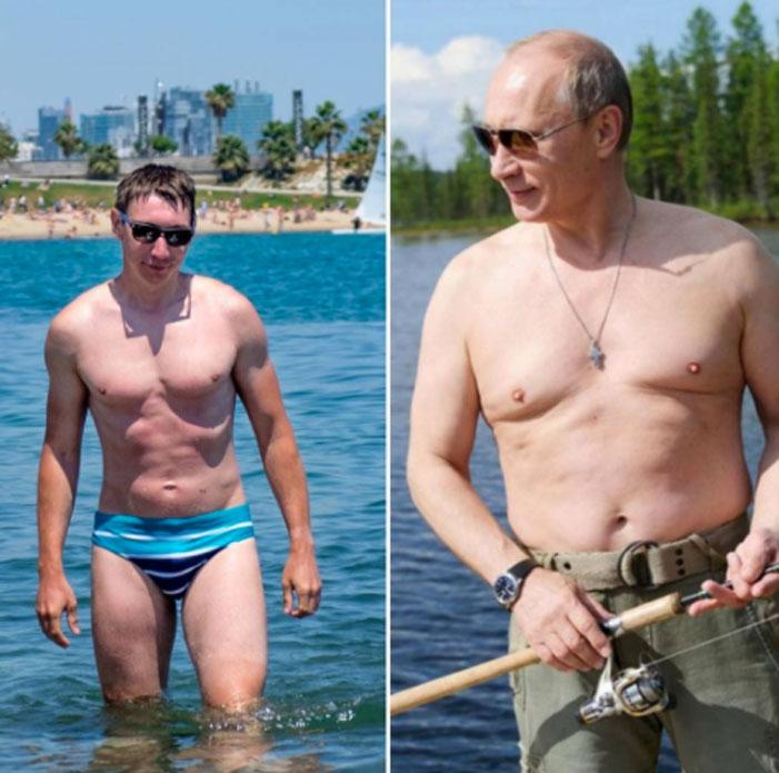 Putin Shirtless Challenge 09