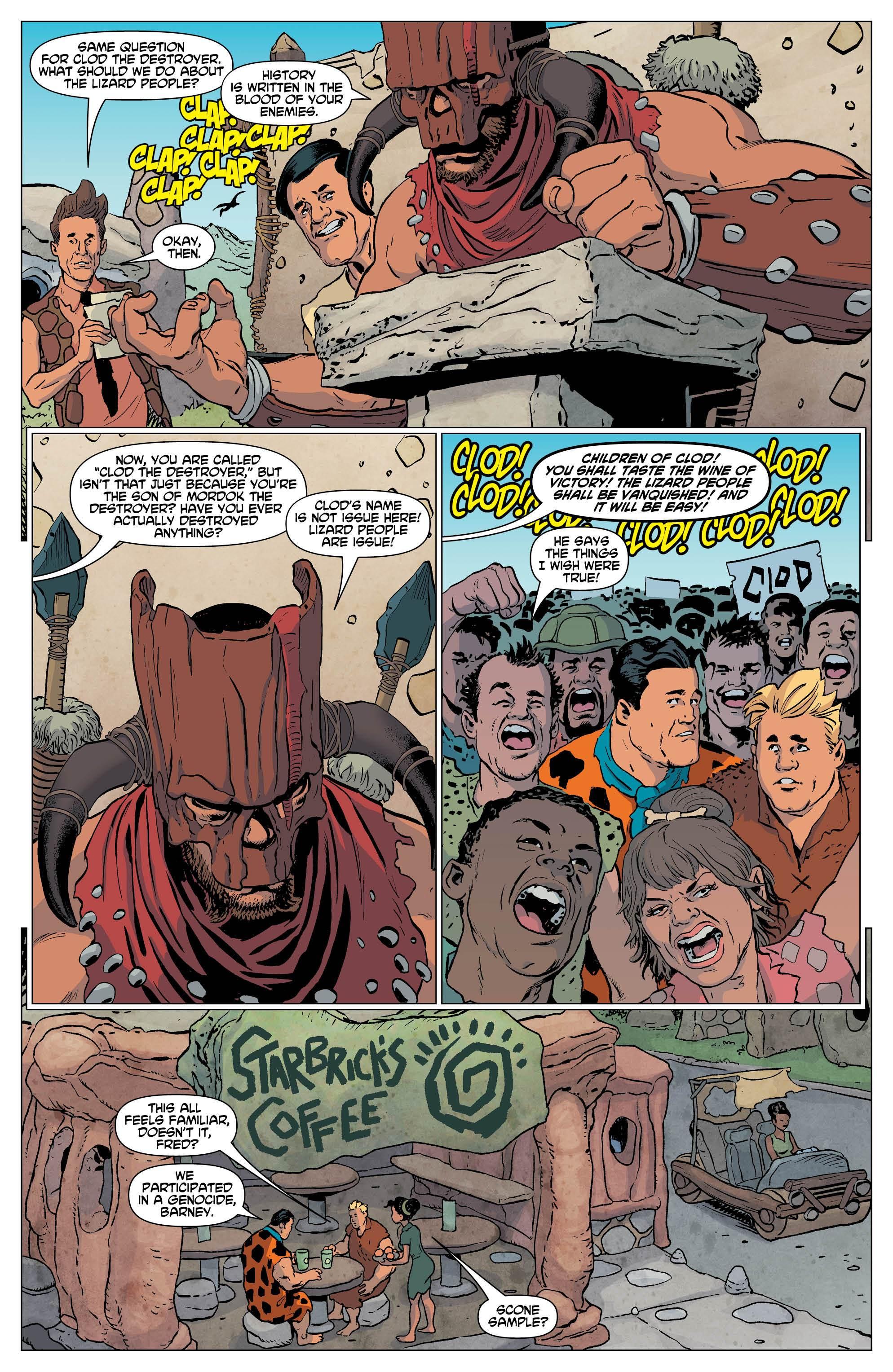 flintstones comic genocide