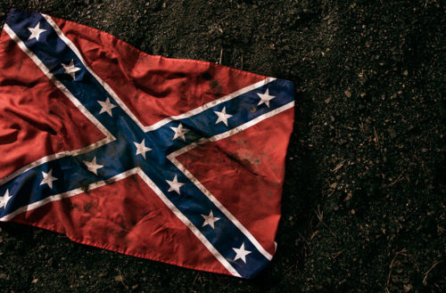 confederate rainbow flags